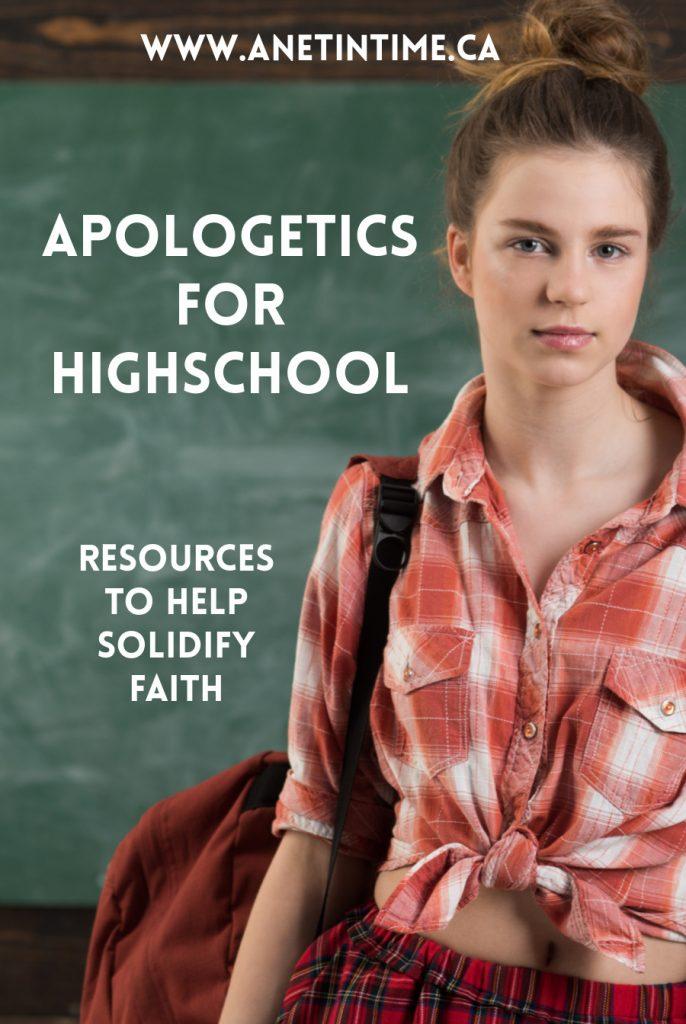 Apologetics for HighSchool
