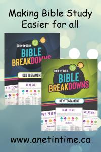 Bible breakdowns