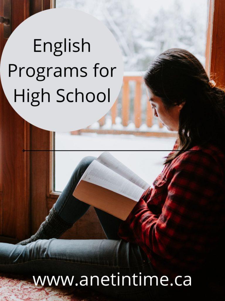 english programs for highschool