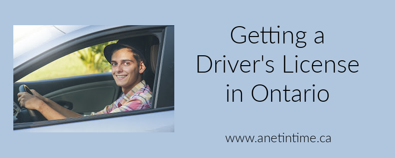 Getting a Driver's License in Ontario